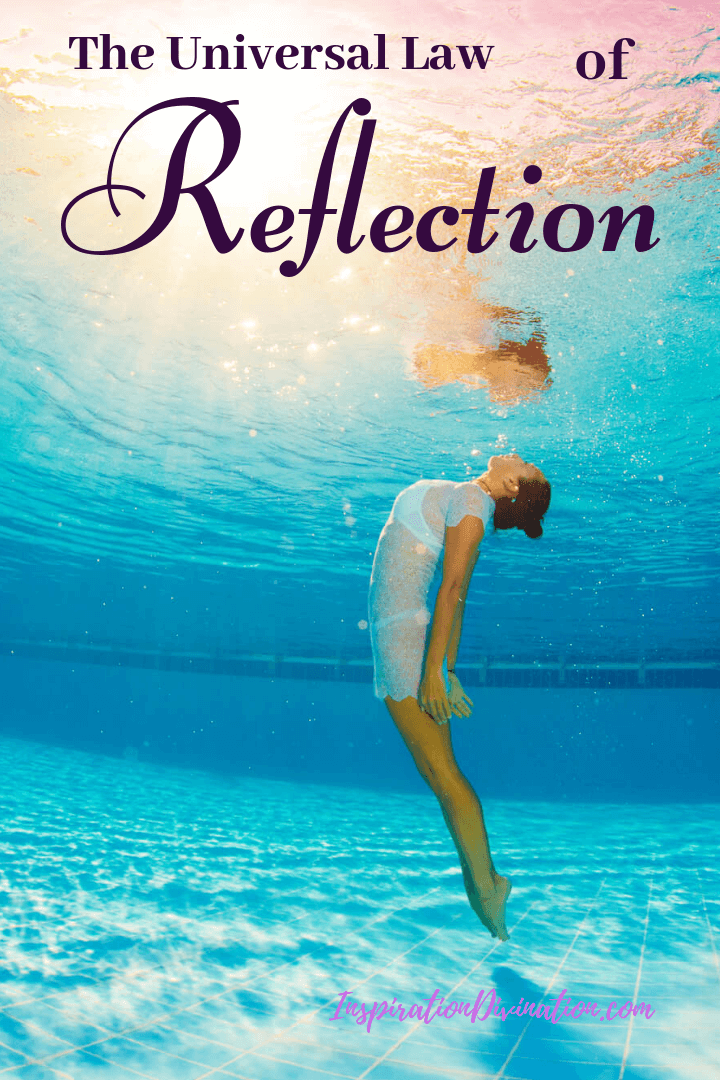 The Universal Law of Reflection is a part of Spiritual Laws of the Universe. Are you familiar with it?