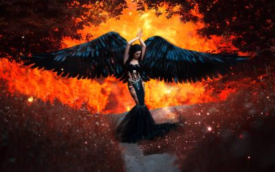 What are Dark, or Fallen Angels