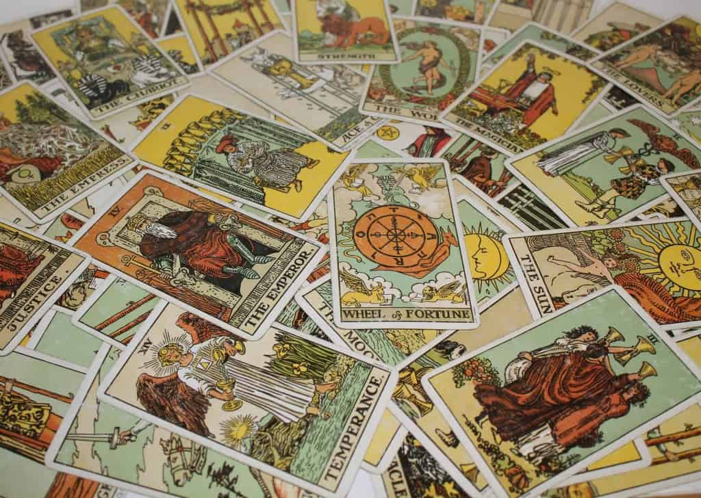 Original Rider Waite Tarot cards deck
