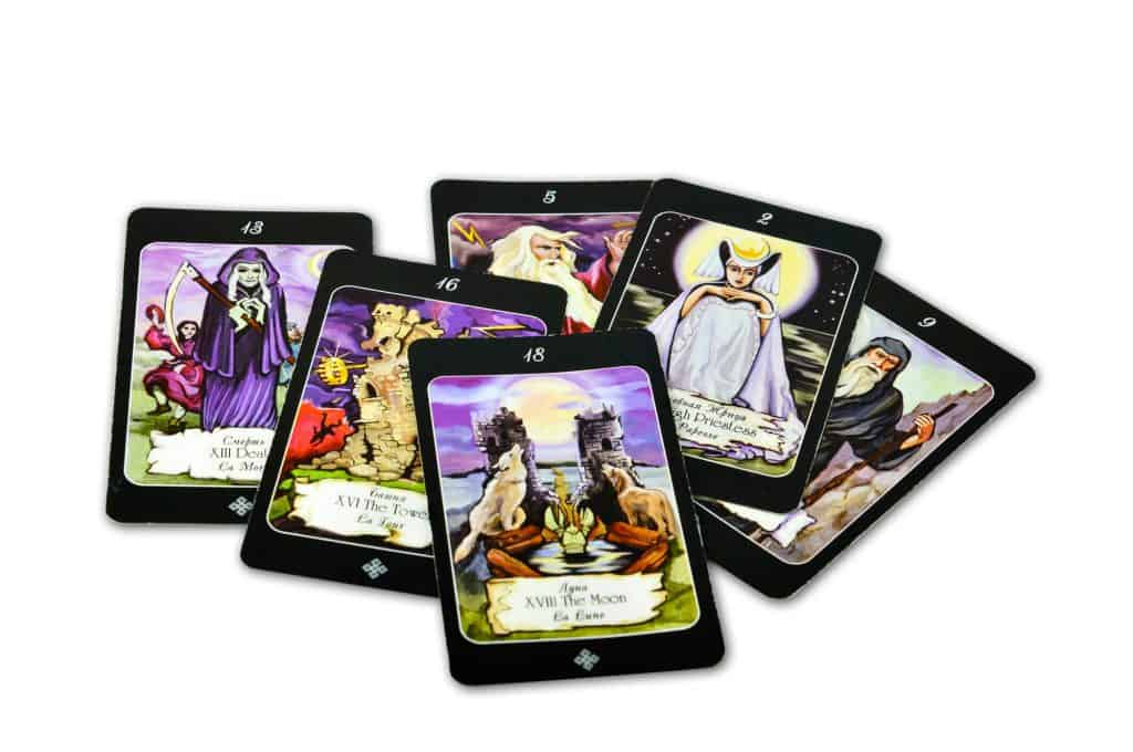 Tarot Major Arcana cards