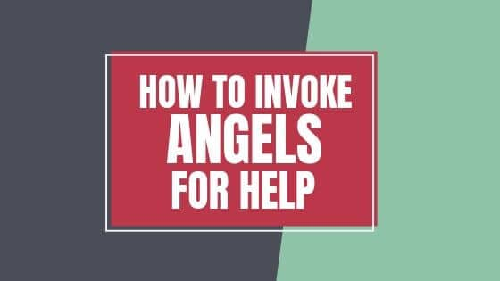 How to invoke Angels for help, the popular post graphic
